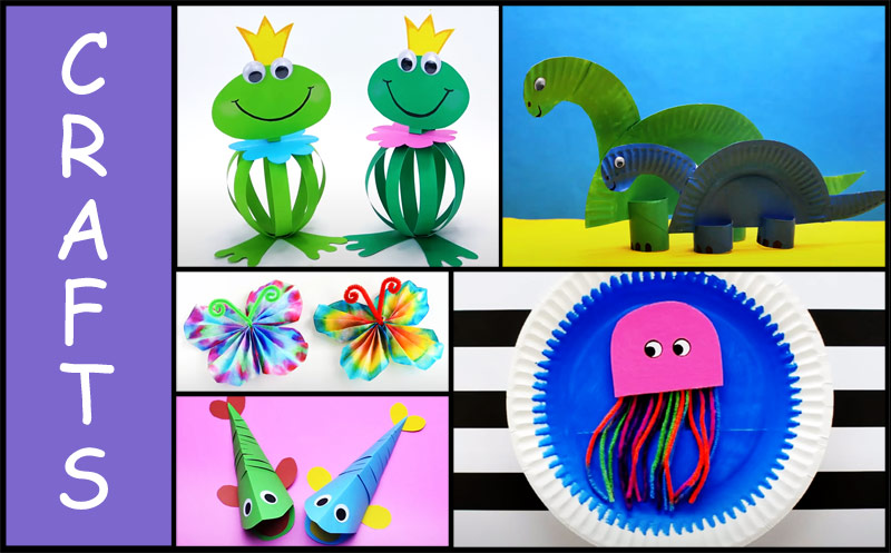 5 Adorable & Easy Crafts For Kids